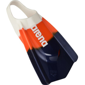 arena Pro Fed Powerfin płetwy, white-orange-navy